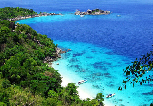 SIMILAN ISLAND SPEED BOAT